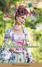 okładka Małżeństwo doskonałe Wielkie Litery, Książka | Julia Quinn