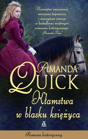 okładka Kłamstwa w blasku księżyca Wielkie Litery, Książka | Amanda Quick