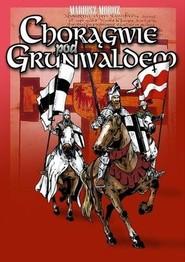 okładka Chorągwie pod Grunwaldem, Książka | Moroz Mariusz