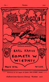 okładka Kometa w Wiedniu Satyry i glosy z lat 1910-1920, Książka | Kraus Karl