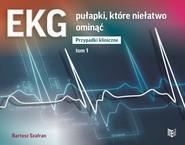 okładka EKG pułapki, które niełatwo ominąć Przypadki kliniczne Tom 1, Książka | Bartosz  Szafran