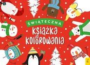 okładka Świąteczna książka do kolorowania, Książka  