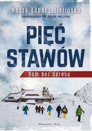 okładka Pięć stawów Dom bez adresu, Książka   Sabałą-Zielińska Beata