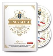 okładka Encykliki świętego Jana Pawła II książka do słuchania z płytami CDmp3, Książka  