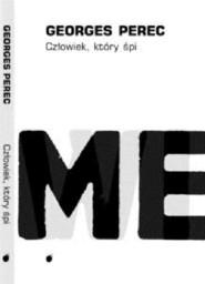 okładka Człowiek który śpi / Lokator, Książka | Perec Georges
