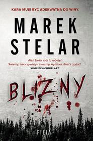 okładka Blizny Wielkie Litery, Książka | Marek Stelar
