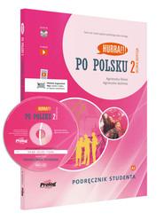 okładka Hurra Po polsku 2 Podręcznik studenta z płytą CD, Książka | Agnieszka Dixon, Jasińska Agnieszka