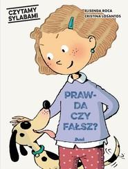 okładka Czytamy sylabami Prawda czy fałsz, Książka | Roca Elisenda