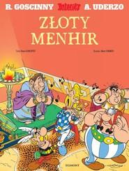 okładka Asteriks Złoty Menhir, Książka |