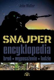 okładka Snajper Encyklopedia, Książka | Walter John