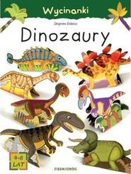 okładka Wycinanki Dinozaury, Książka | Dobosz Zbigniew