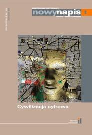 okładka Nowy napis. Liryka, epika, dramat 8/2020, Książka |