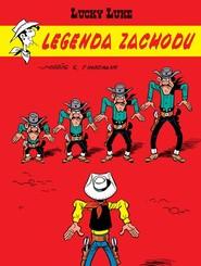 okładka Lucky Luke Legenda Zachodu, Książka | Nordmann Patrik