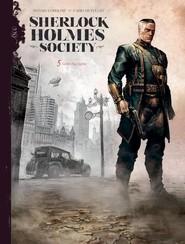 okładka Sherlock Holmes Society Tom 5 Grzechy syna, Książka |