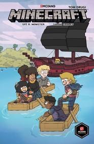 okładka Minecraft  komiks Tom 2, Książka |