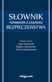 okładka Słownik terminów z zakresu bezpieczeństwa, Książka  