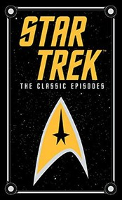 okładka Star Trek: The Classic Episodes Barnes & Noble Leatherbound, Książka | James| Lawrence J. A. Blish