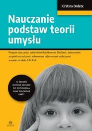 okładka Nauczanie podstaw teorii umysłu, Książka | Ordetx Kirstina