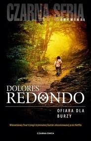 okładka Ofiara dla burzy, Książka | Dolores Redondo
