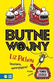 okładka Butne wojny, Książka   Pichon Liz