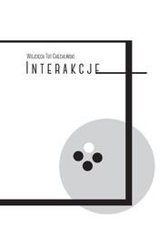 okładka Interakcje, Książka | Tut-Chechliński Wojciech