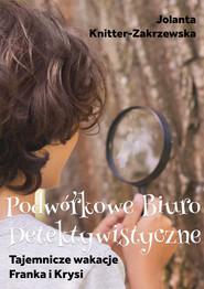okładka Tajemnicze wakacje Franka i Krysi, Ebook | Jolanta  Knitter-Zakrzewska
