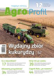 okładka Agro Profil 12/2020, Ebook | praca zbiorowa