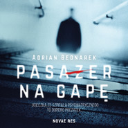 okładka Pasażer na gapę, Audiobook | Adrian Bednarek