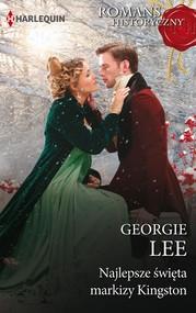 okładka Najlepsze święta markizy Kingston, Ebook   Georgie Lee