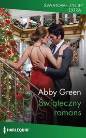 okładka Świąteczny romans, Ebook | Abby Green