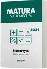 okładka Matematyka Matura 2021 Vademecum ZR, Książka | Gałązka Kinga