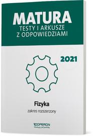 okładka Fizyka Matura 2021 Testy i arkusze ZR, Książka | Przysiecka Ewa, Dobosz Anna