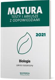 okładka Biologia Matura 2021 Testy i arkusze ZR, Książka | Michalik Anna, Skrzycka Roksana