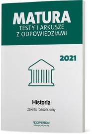 okładka Historia Matura 2021 Testy i arkusze ZR, Książka | Cezary Tulin, Beata Kubicka, Marek Smuda