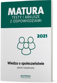 okładka WOS Matura 2021 Testy i arkusze ZR, Książka | Iwona Walendziak, Freier-Pniok Barbara, Chabior-Mundała Katarzyna
