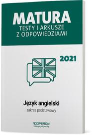 okładka Język angielski Matura 2021 Testy i arkusze ZP, Książka | Magdalena Roda, Anna Tracz-Kowalska