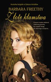 okładka Złote kłamstwa Wielkie Litery, Książka | Barbara  Freethy