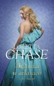 okładka Skandal w atłasach Wielkie litery, Książka | Loretta  Chase