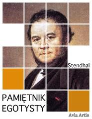 okładka Pamiętnik egotysty, Ebook | Stendhal