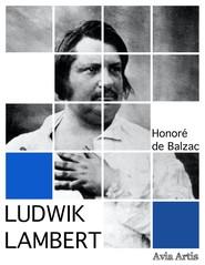 okładka Ludwik Lambert, Ebook | Honoré Balzac