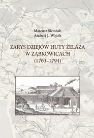 okładka Zarys dziejów huty żelaza w Ząbkowicach (1763-1794), Książka | Mateusz Siembab, Andrzej J. Wójcik