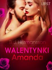 okładka Walentynki: Amanda - opowiadanie erotyczne, Ebook | B. J. Hermansson