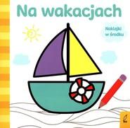 okładka Już koloruję Na wakacjach, Książka | Wojtkowiak-Skóra Patrycja