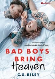 okładka Bad Boys Bring Heaven, Książka | Riley C.S.