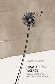okładka Doświadczenie wglądu, Ebook   Joseph Goldstein