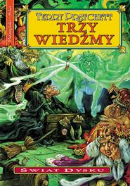 okładka Trzy wiedźmy, Ebook   Terry Pratchett
