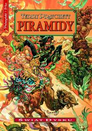 okładka Piramidy, Ebook   Terry Pratchett