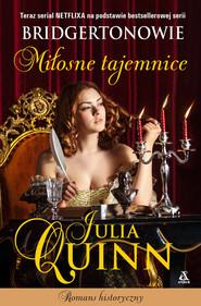 okładka Miłosne tajemnice, Książka | Julia Quinn