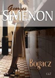 okładka Bogacz, Książka | Georges Simenon