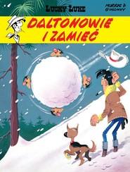 okładka Lucky Luke Daltonowie i zamieć, Książka | Morris Chris